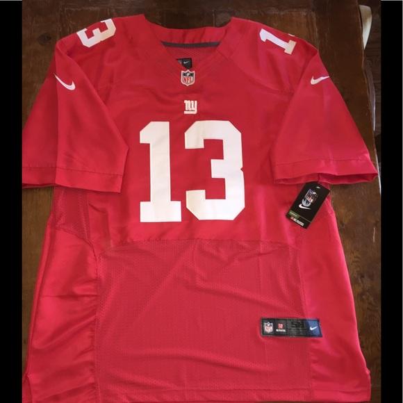 uk availability 3e3b5 29846 Odell Beckham football NFL game jersey